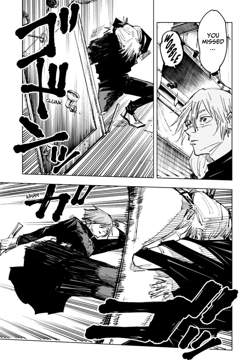 Jujutsu Kaisen, Chapter 122 image 017