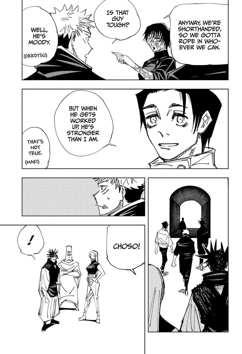 Jujutsu Kaisen, Chapter 146 image 013
