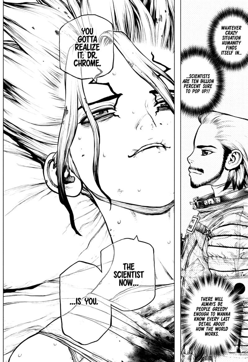 Dr. Stone : Chapter 160 - Torch of Science image 016