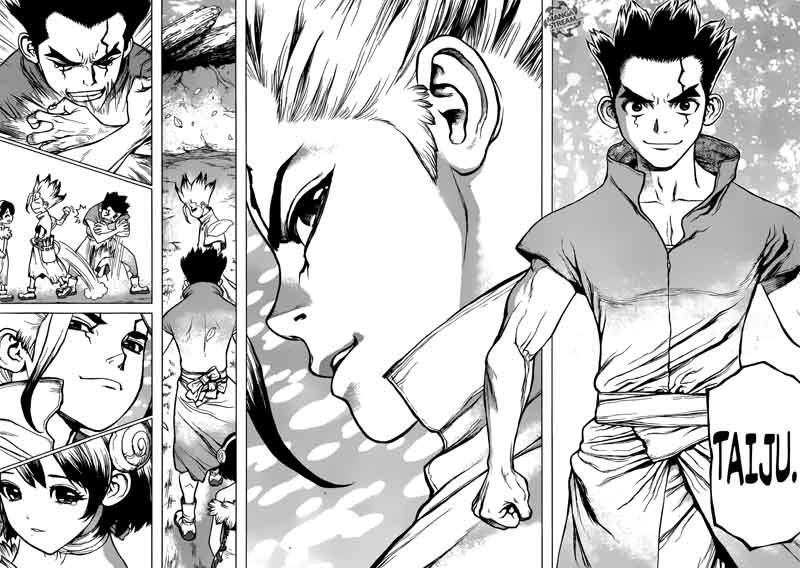 Dr. Stone : Chapter 74 - 20 second of fate image 012