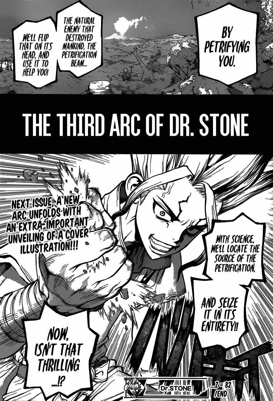 Dr. Stone : Chapter 82 - Epilogue of The Stone Wars image 018