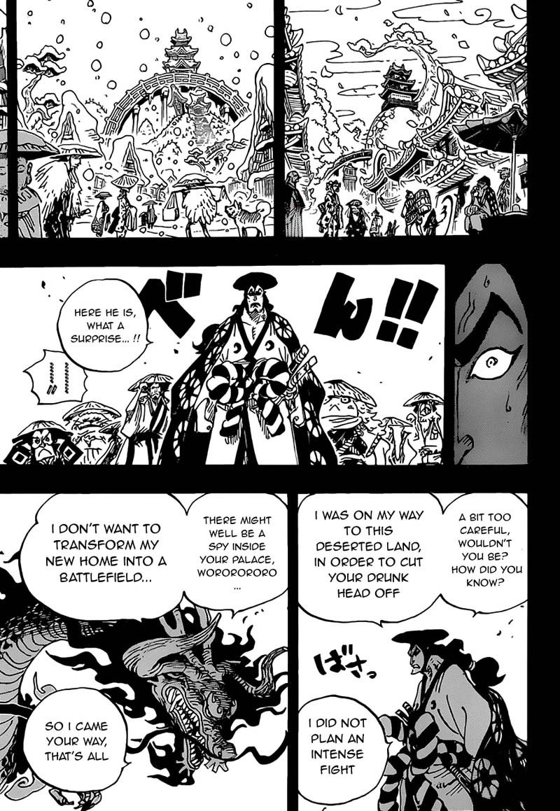 One Piece, Chapter 970 image 003