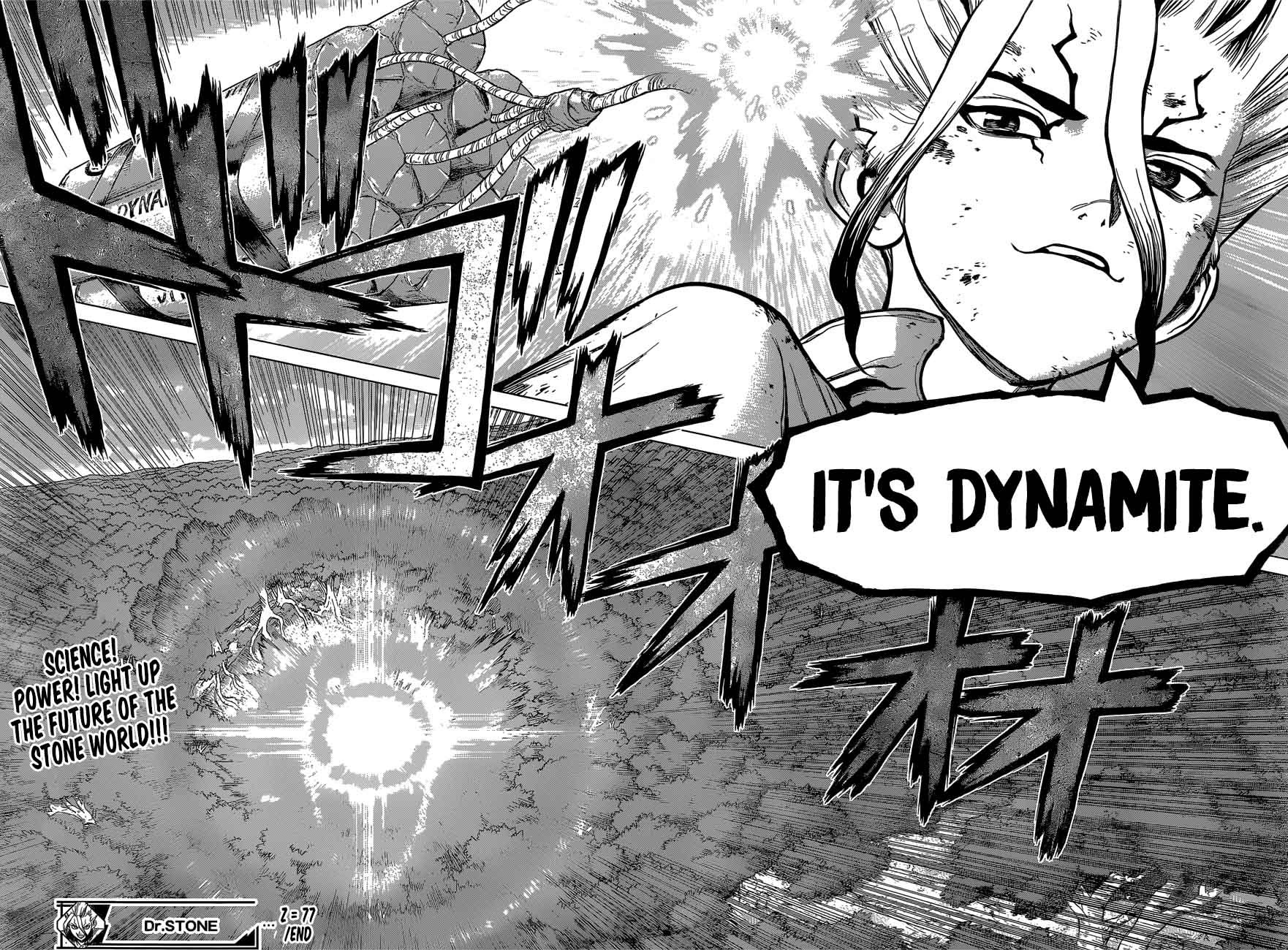 Dr. Stone : Chapter 77 - The Power of Science image 020