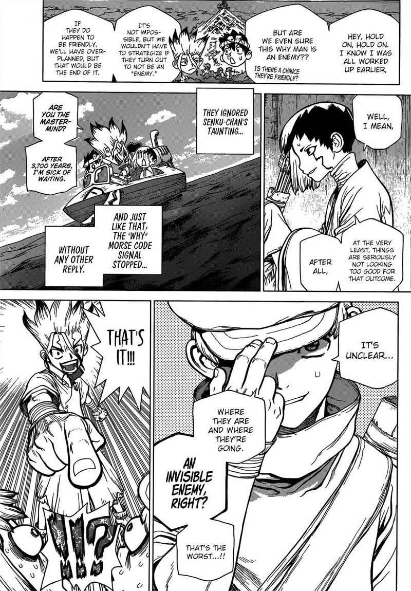 Dr. Stone : Chapter 96 - Eyes of Science image 007
