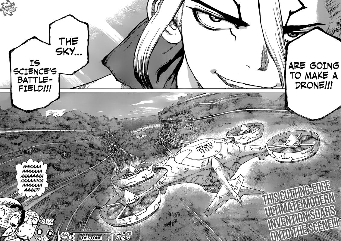 Dr. Stone : Chapter 111 - Science Wars image 020