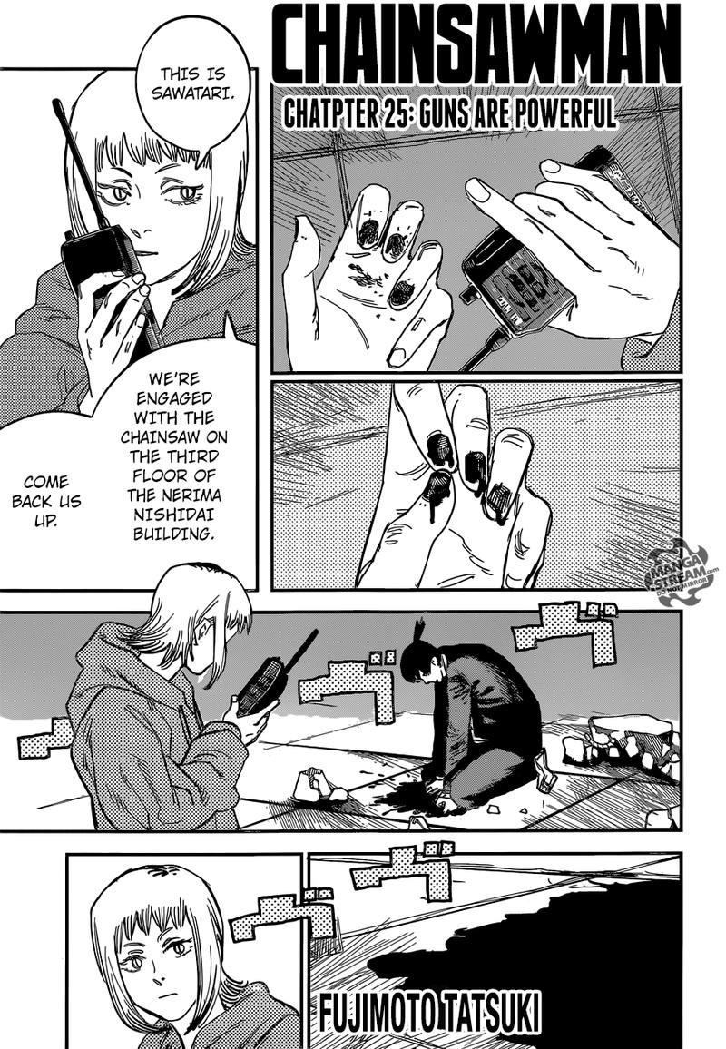 Chainsaw Man, Chapter 26 image 001