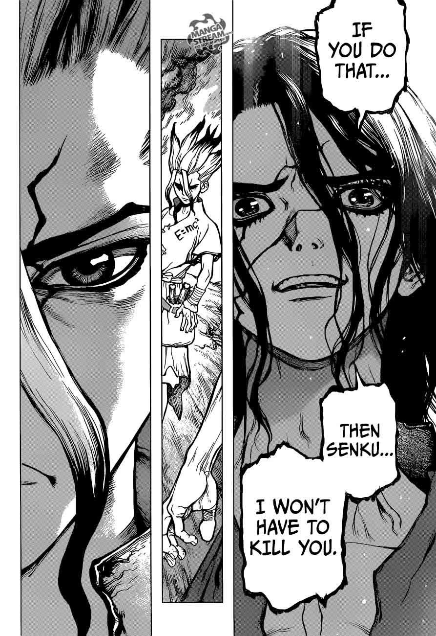 Dr. Stone : Chapter 9 - Senku vs Tsukasa image 018