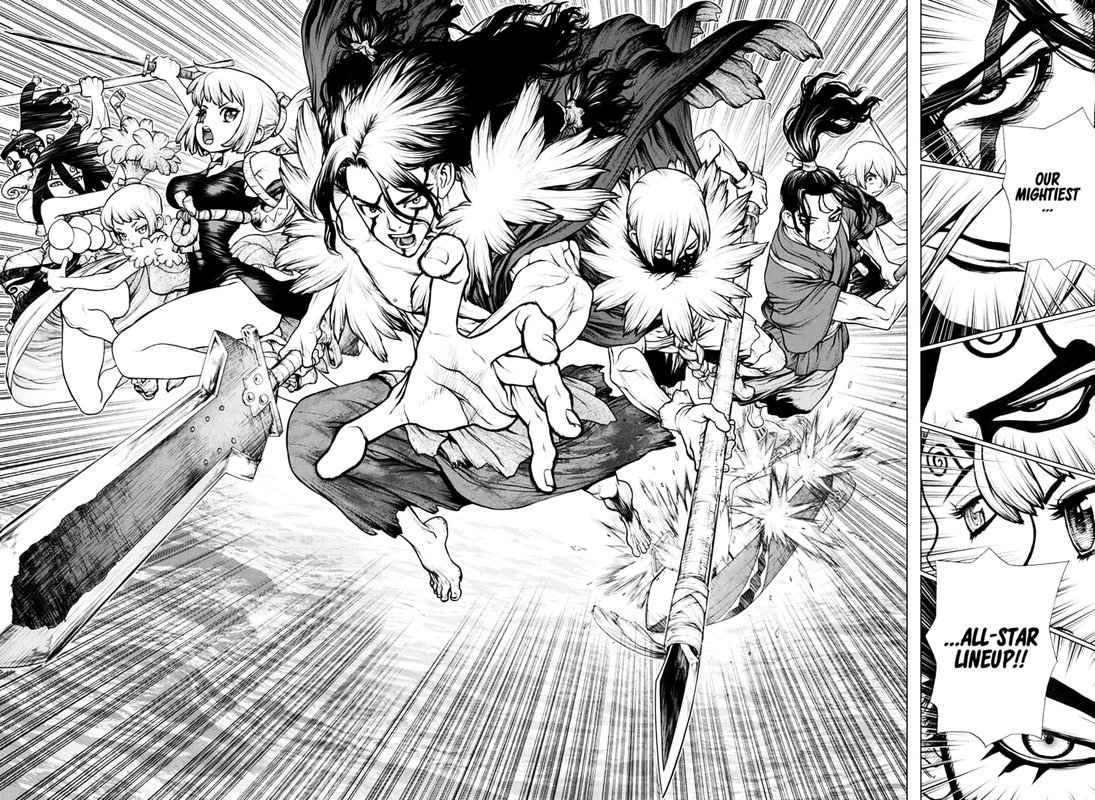 Dr. Stone : Chapter 148 - Pioneers of Earth image 012