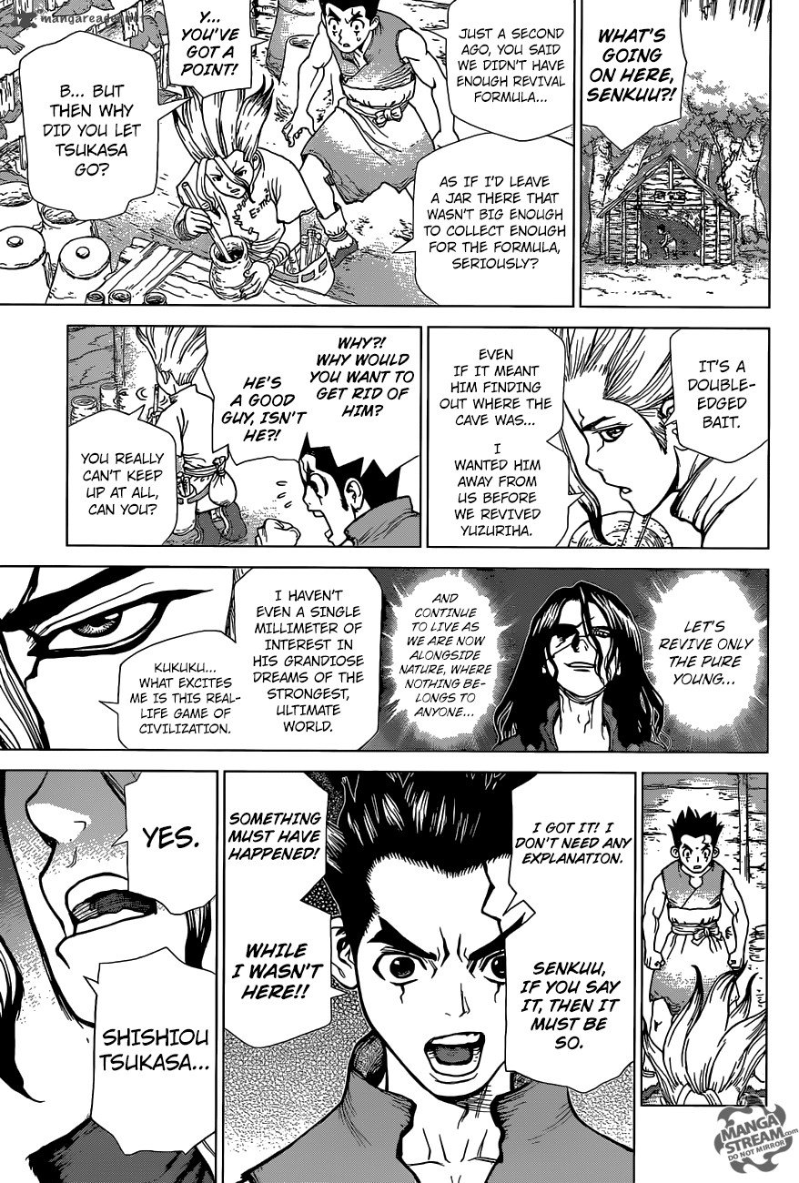Dr. Stone : Chapter 5 image 009