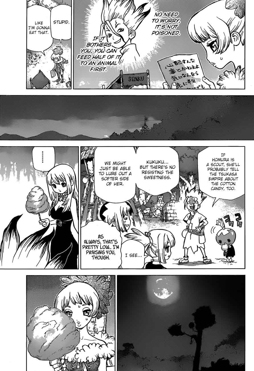 Dr. Stone : Chapter 51 - Sweet in the Stone World image 016