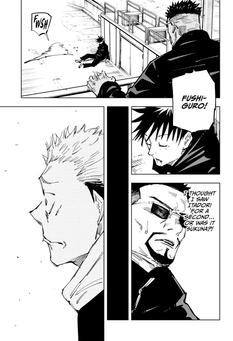 Jujutsu Kaisen, Chapter 119 image 015