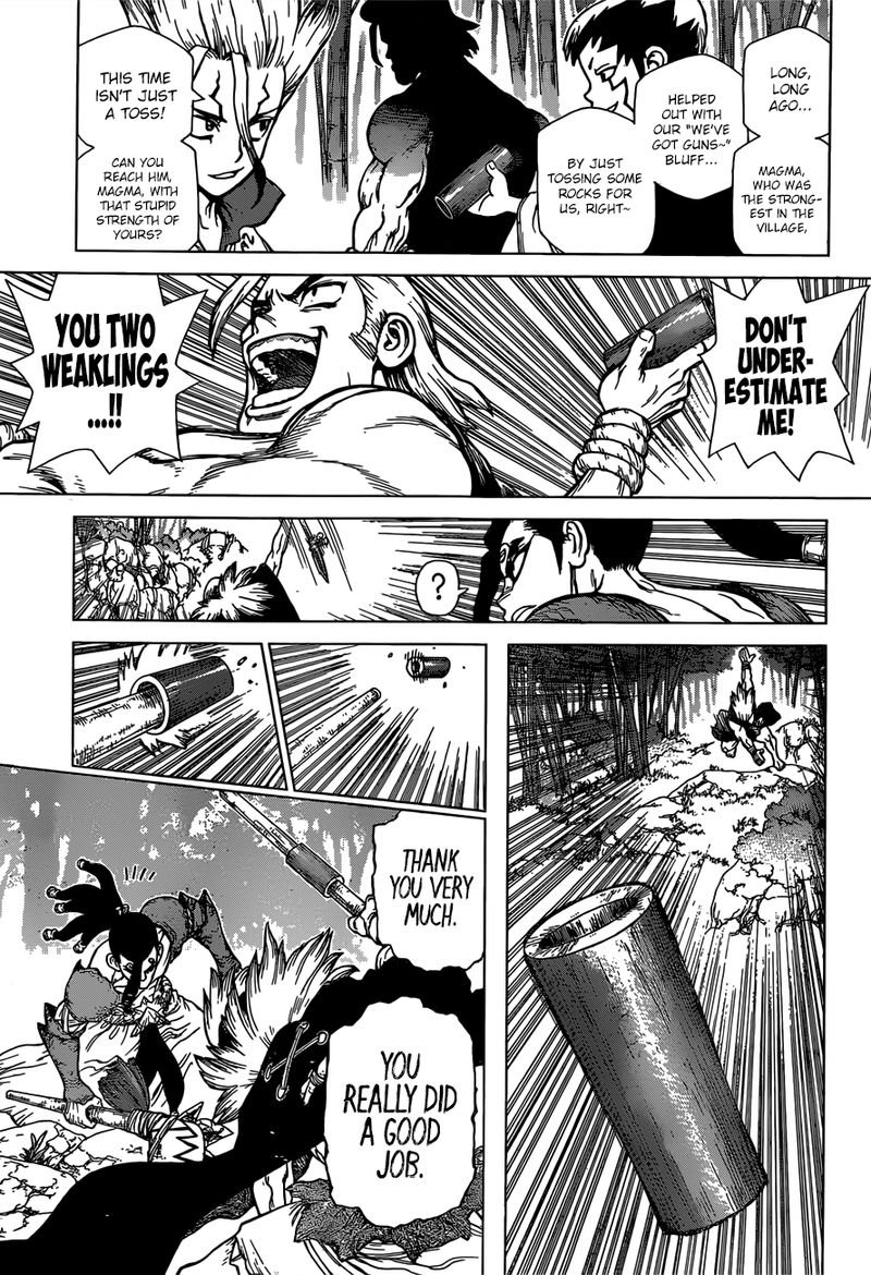 Dr. Stone : Chapter 132 - The Strongest Weapon image 011