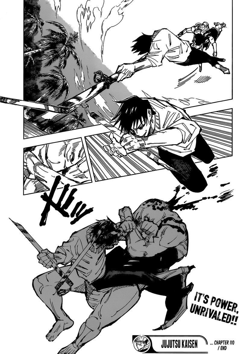 Jujutsu Kaisen, Chapter 110 image 018