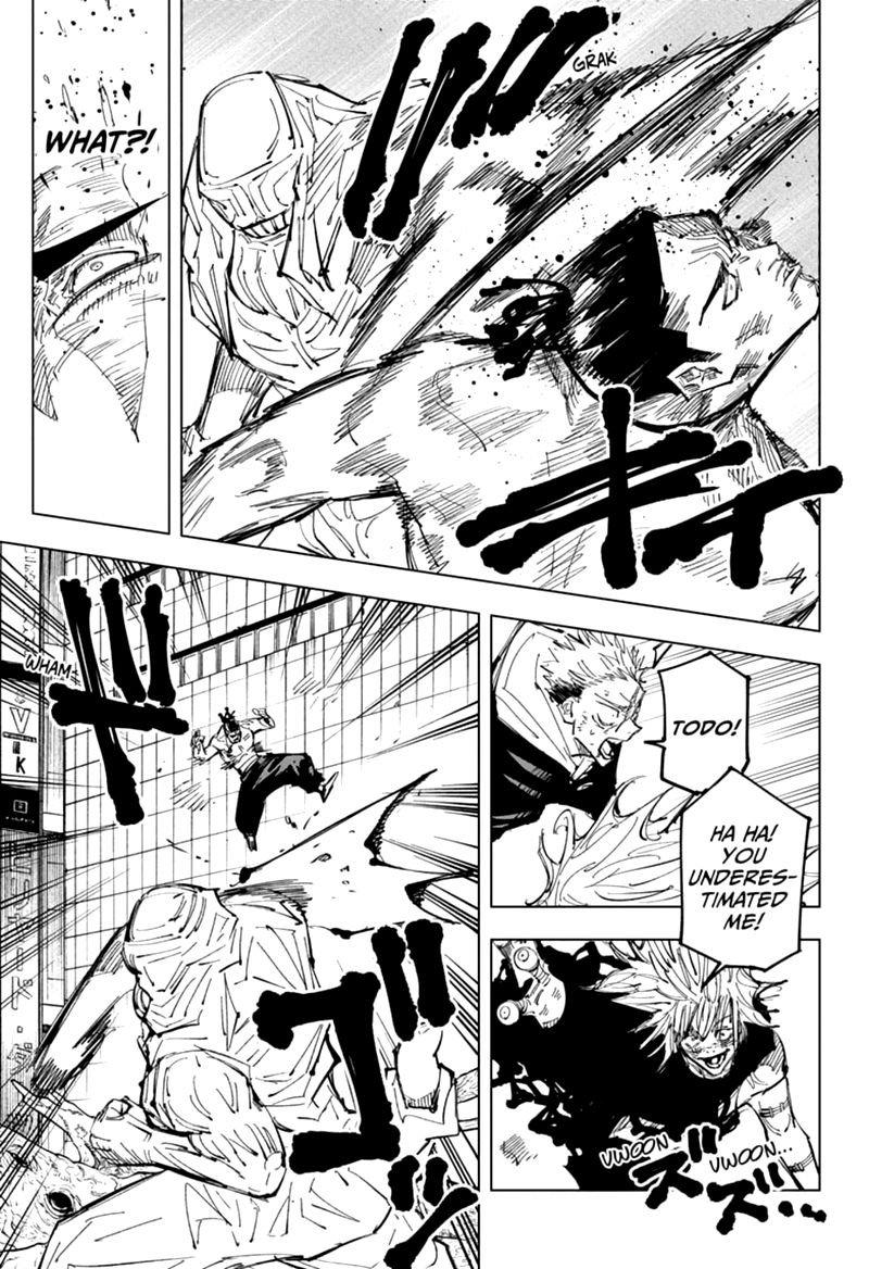 Jujutsu Kaisen, Chapter 129 image 007