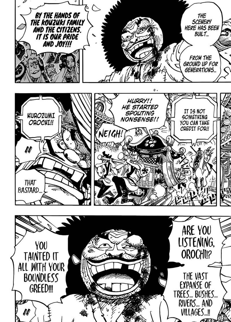 One Piece, Chapter 942 image 007