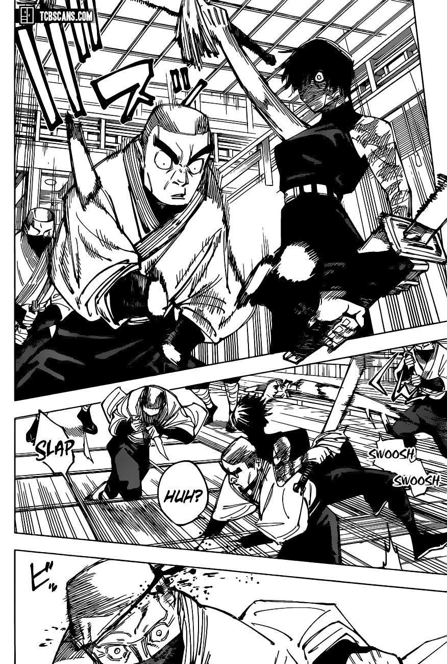 Jujutsu Kaisen, Chapter 150 image 009