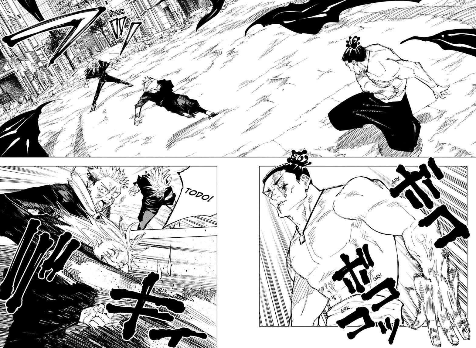 Jujutsu Kaisen, Chapter 130 image 006