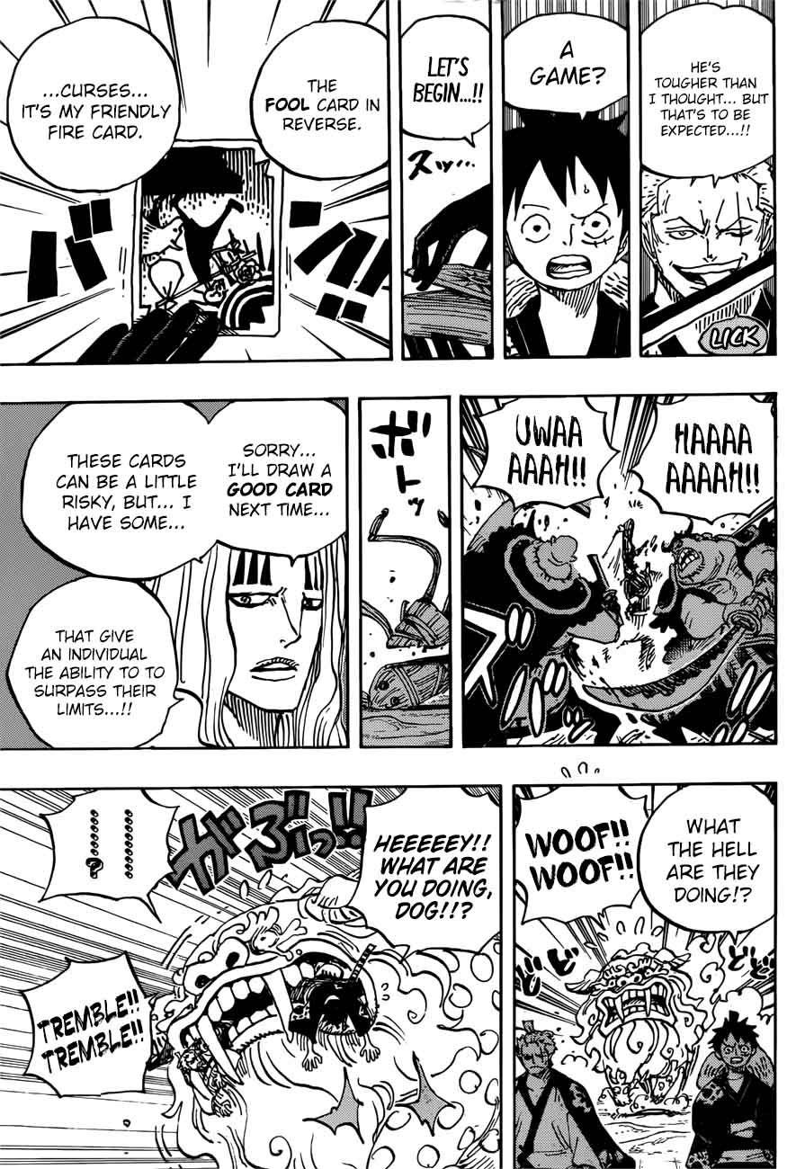 One Piece, Chapter 913 - One-Piece Manga Online