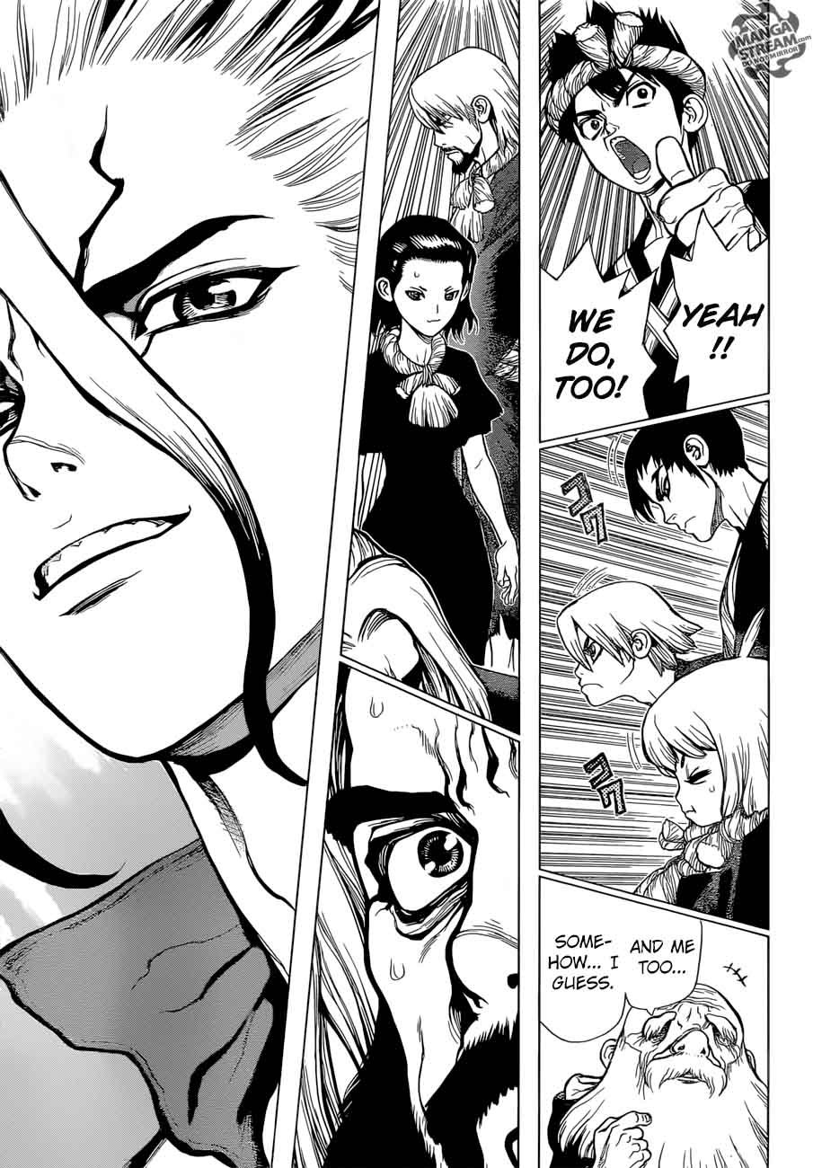 Dr. Stone : Chapter 41 - Doctor Stone image 012