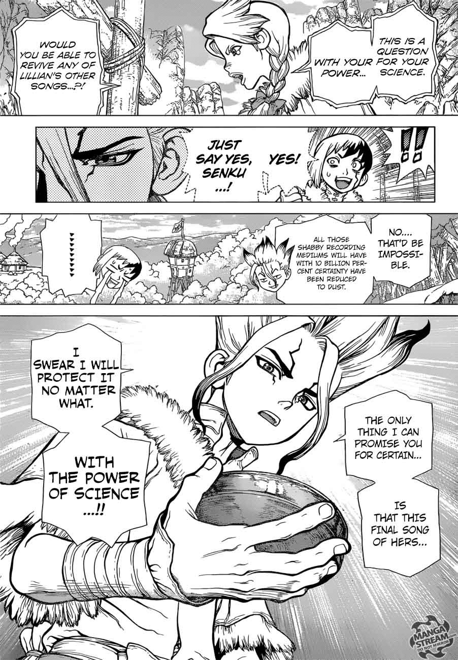 Dr. Stone : Chapter 66 - A liar and a honest person image 018