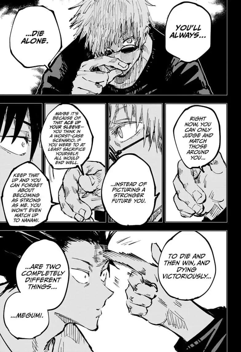 Jujutsu Kaisen, Chapter 58 image 009