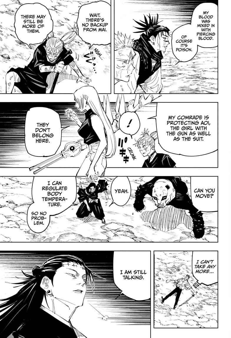 Jujutsu Kaisen, Chapter 136 image 015