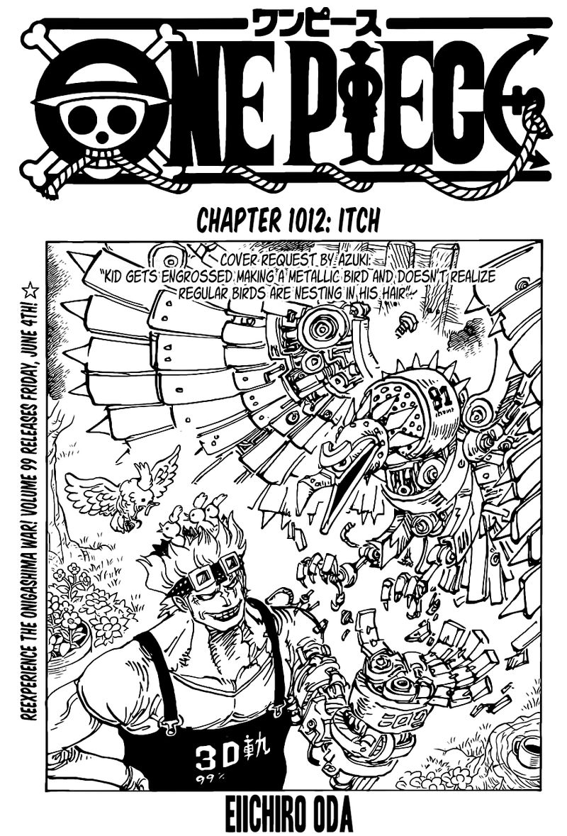 One Piece, Chapter 1012 image one_piece_1012_1