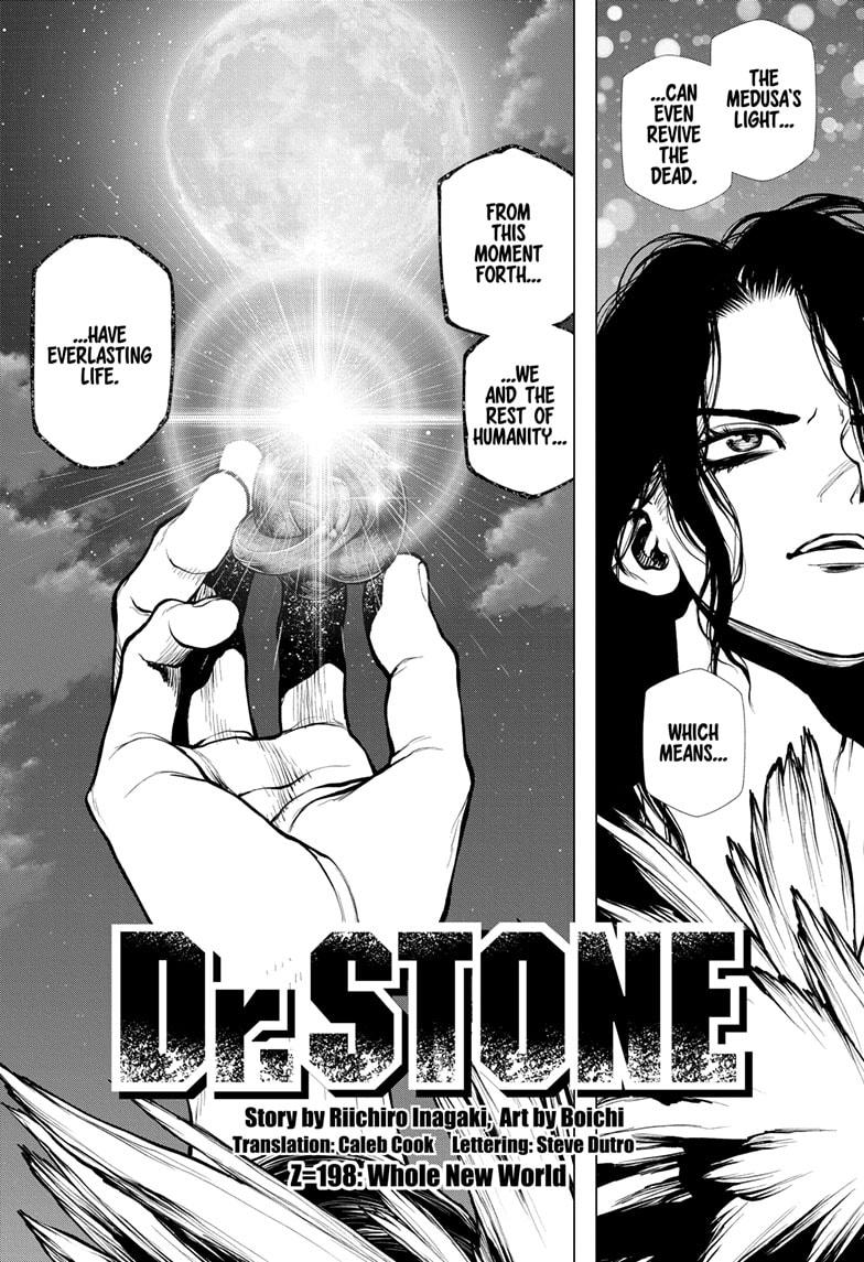 Dr. Stone, Chapter 198 image 002