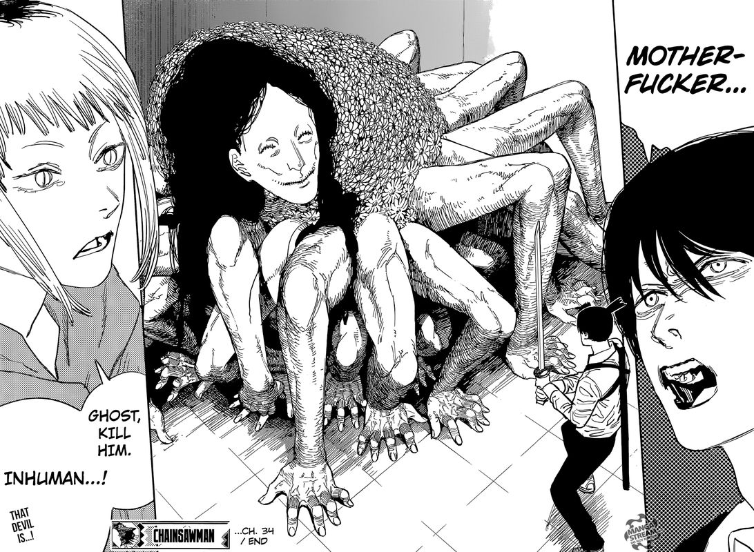 Chainsaw Man, Chapter 34 - All Members Assemble image 018
