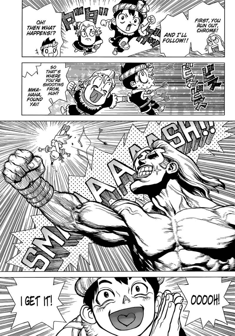 Dr. Stone : Chapter 65 - Phone Call from Dead Man image 011