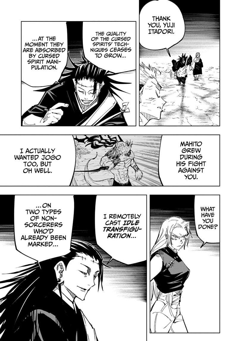 Jujutsu Kaisen, Chapter 136 image 009