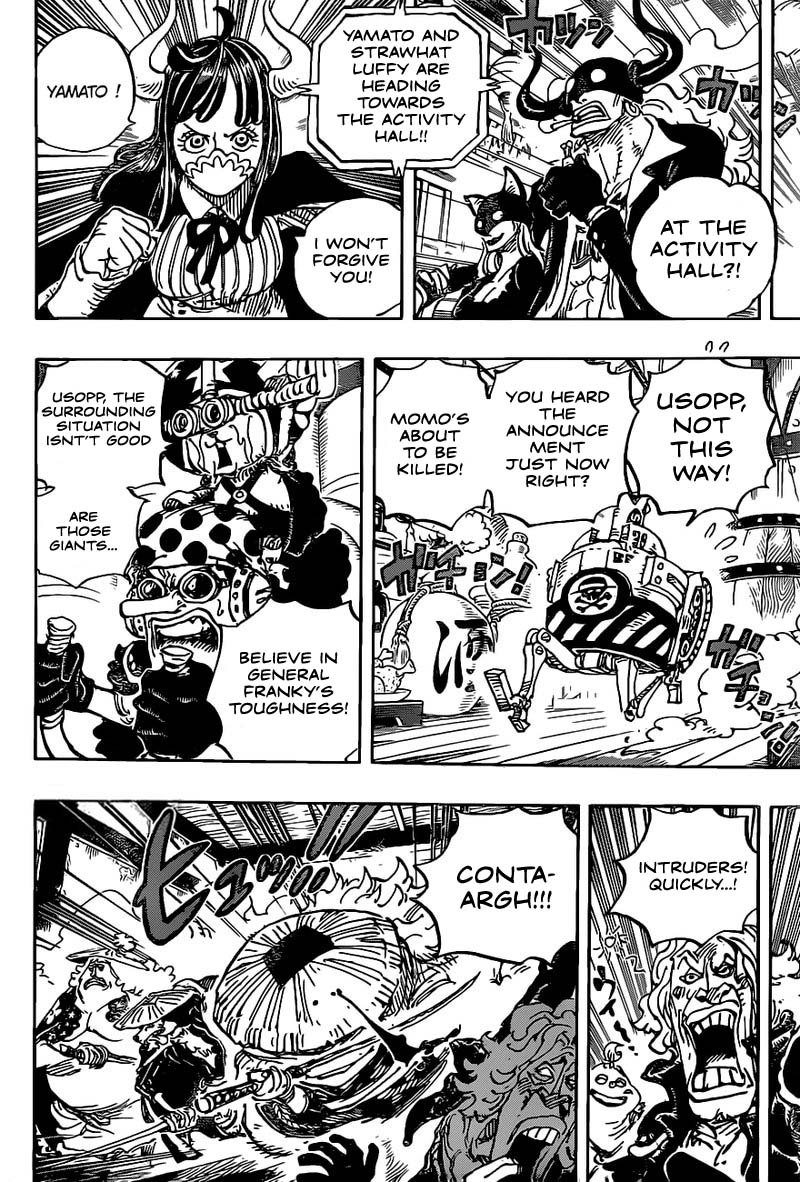 One Piece, Chapter 986 image 009