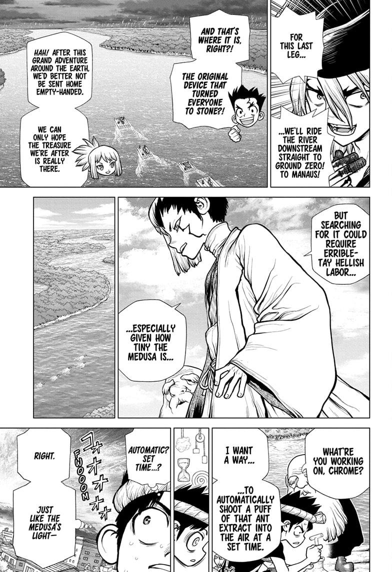 Dr Stone, chapter 180 image 011