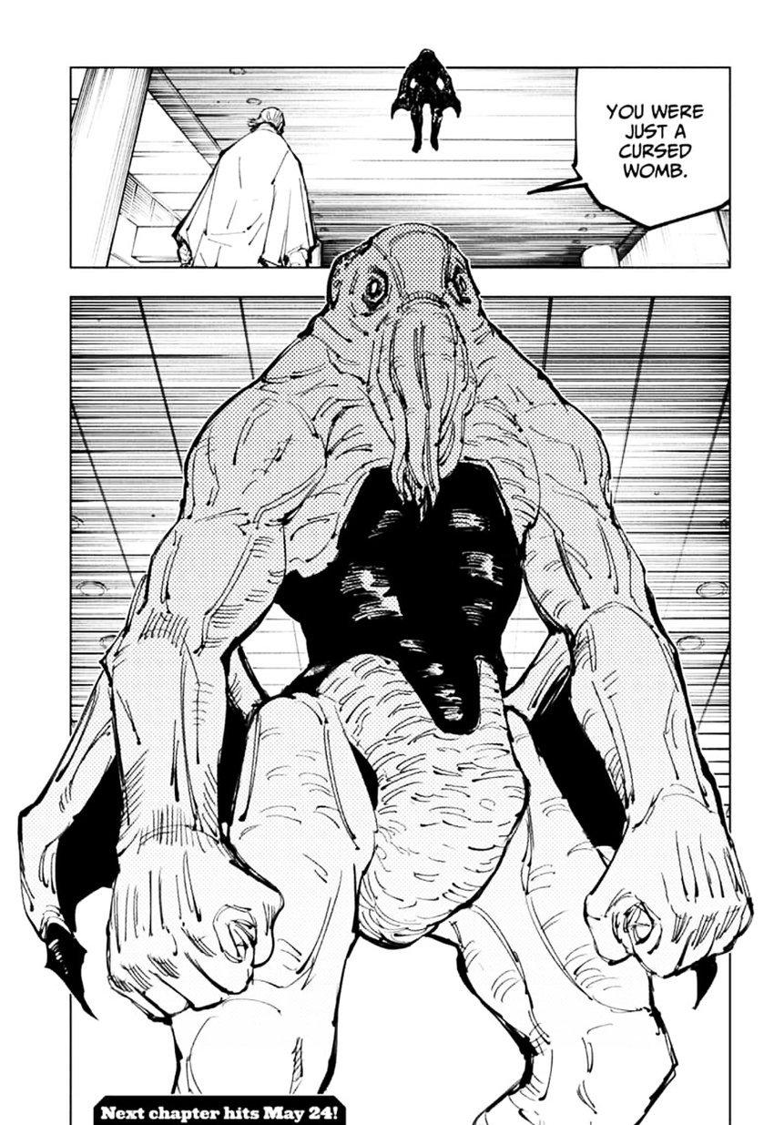 Jujutsu Kaisen, Chapter 106 image 019