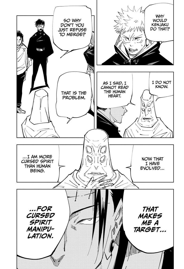 Jujutsu Kaisen, Chapter 145 image 007