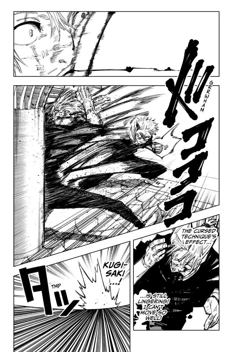 Jujutsu Kaisen, Chapter 124 image 002