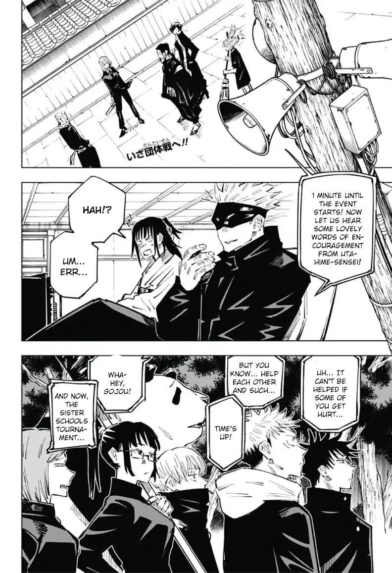 Jujutsu Kaisen, Chapter 34 image 002
