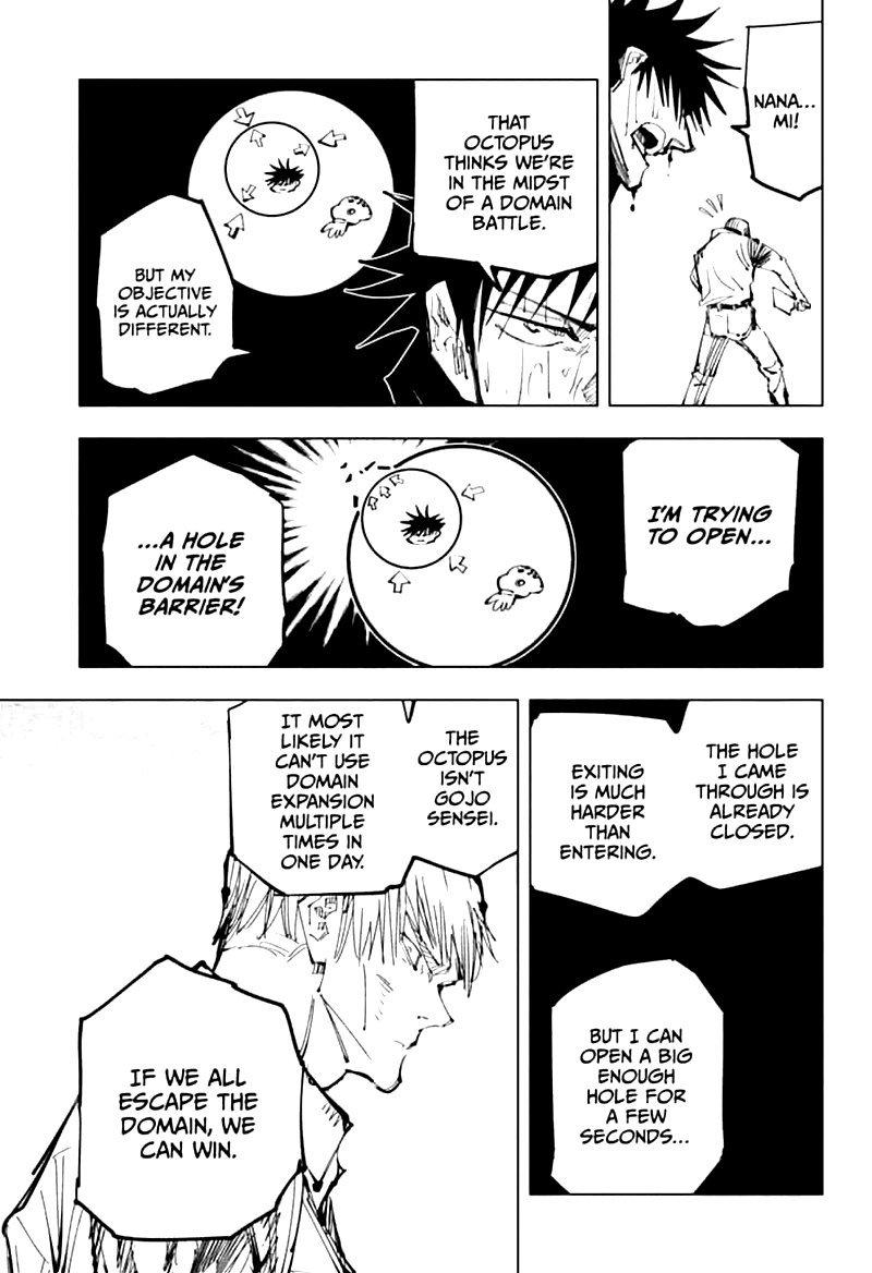 Jujutsu Kaisen, Chapter 109 image 013