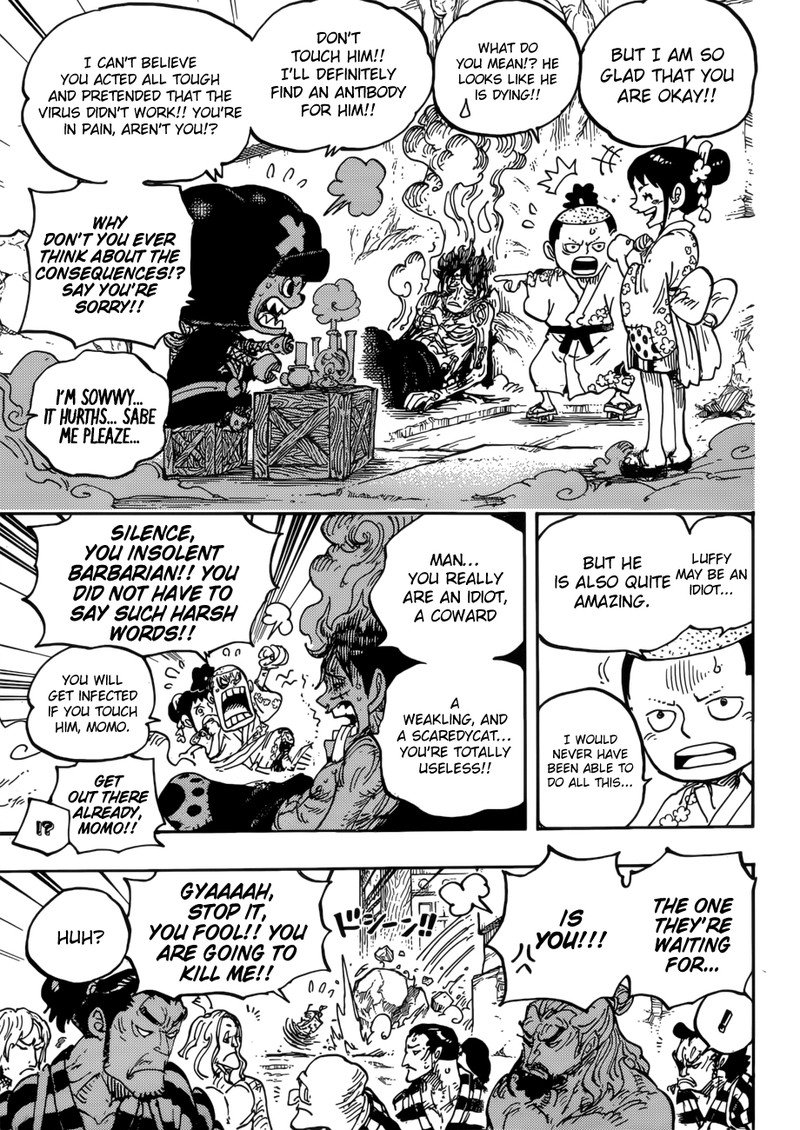 One Piece, Chapter 950 image 006