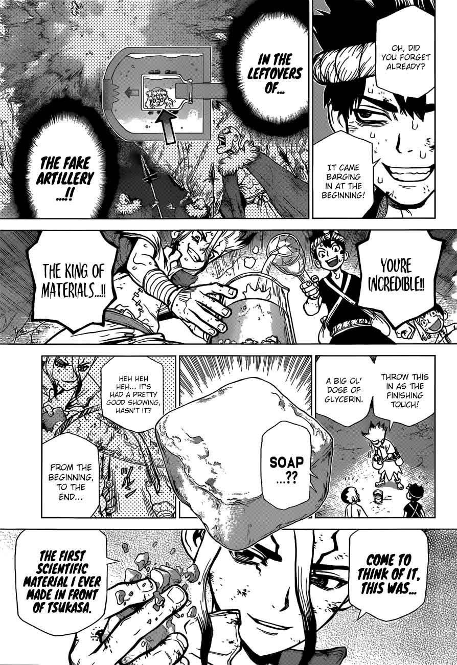 Dr. Stone : Chapter 77 - The Power of Science image 013