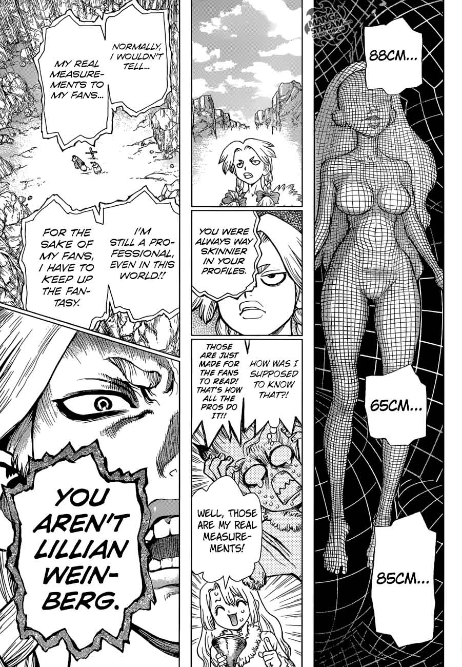 Dr. Stone : Chapter 66 - A liar and a honest person image 013