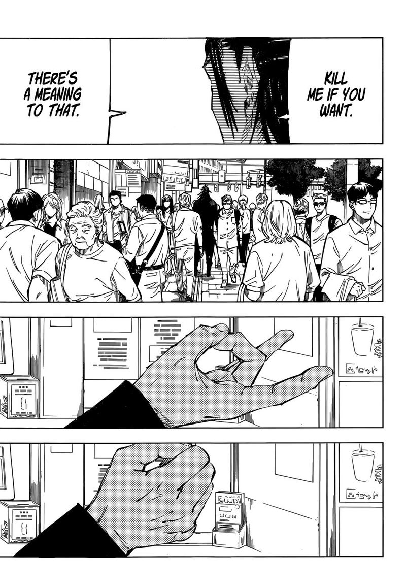 Jujutsu Kaisen, Chapter 78 image 011