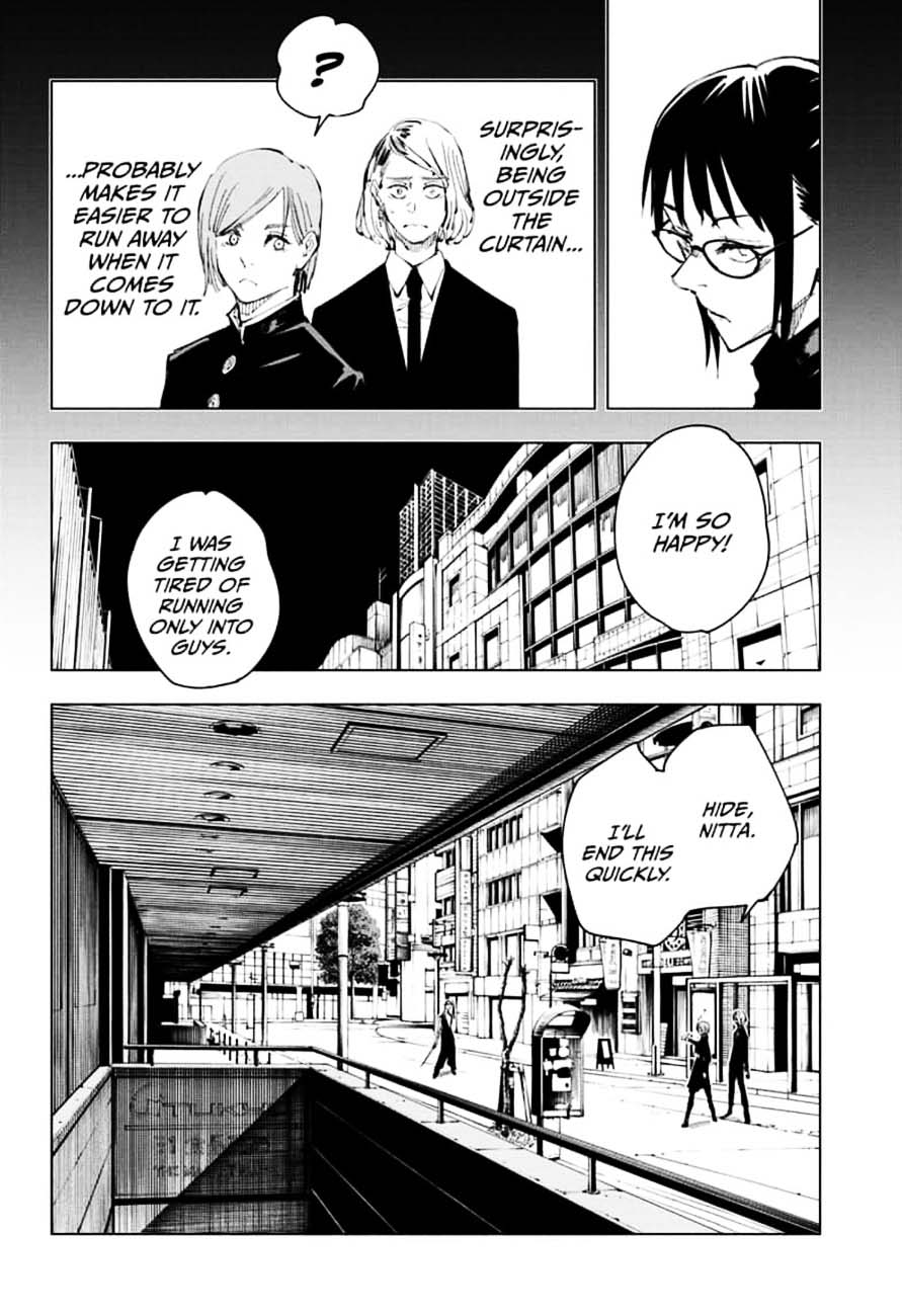 Jujutsu Kaisen, Chapter 99 image 004
