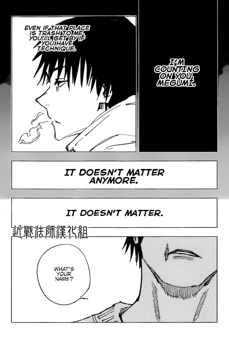 Jujutsu Kaisen, Chapter 113 image 016