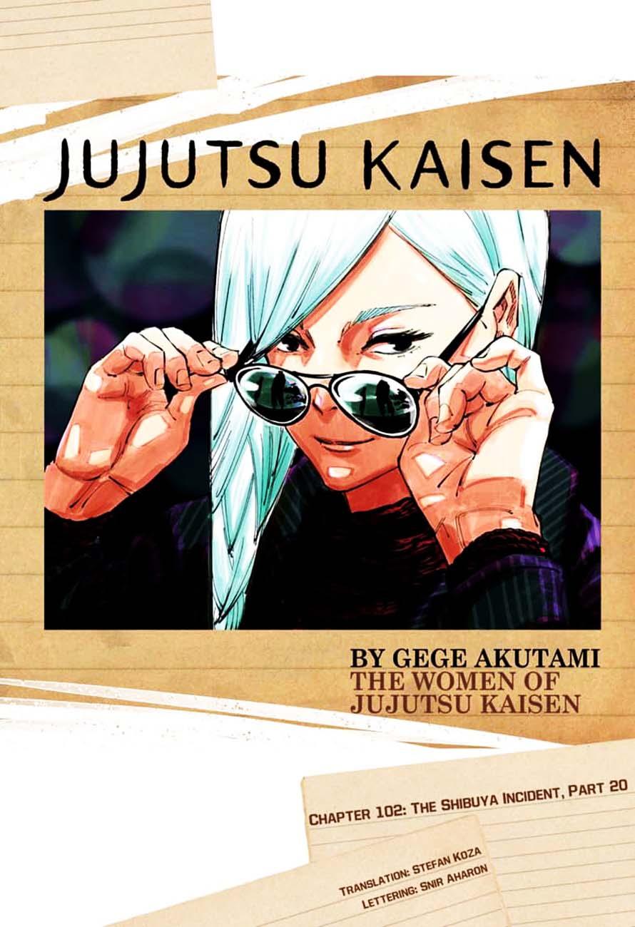 Jujutsu Kaisen, Chapter 102 image 001