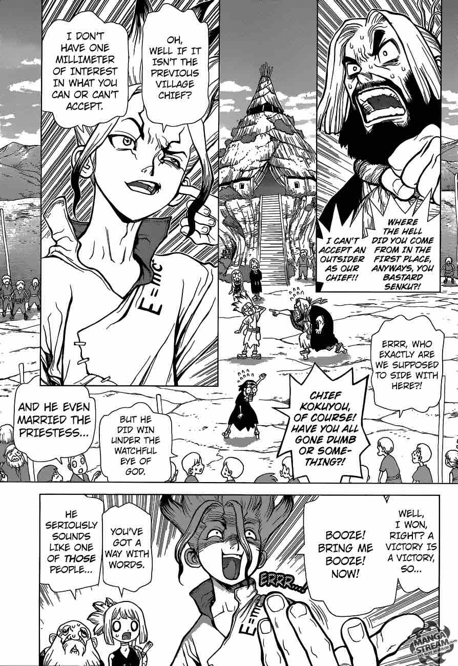 Dr. Stone : Chapter 40 - The fruits of 2,000,000 years image 003
