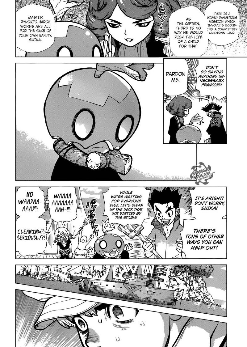 Dr. Stone : Chapter 103 - The light of despair and hope image 008