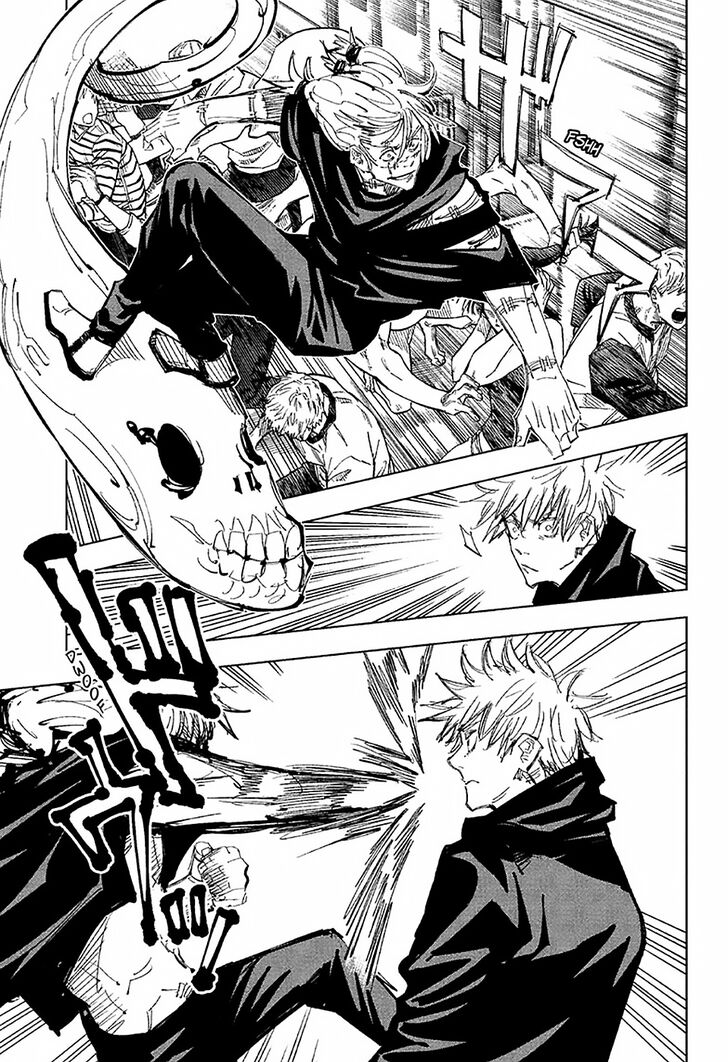 Jujutsu Kaisen, Chapter 89 image 002