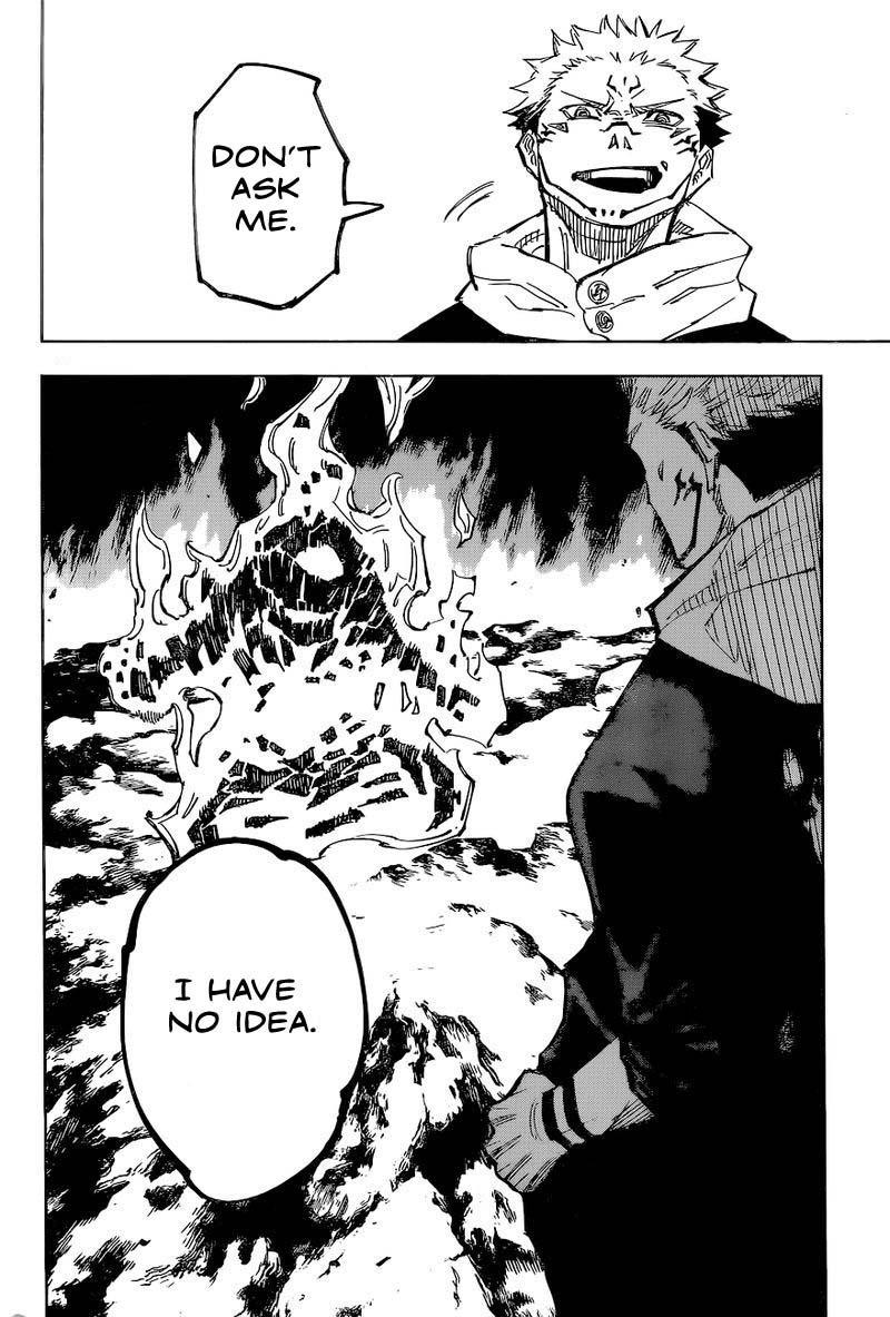 Jujutsu Kaisen, Chapter 116 image 013