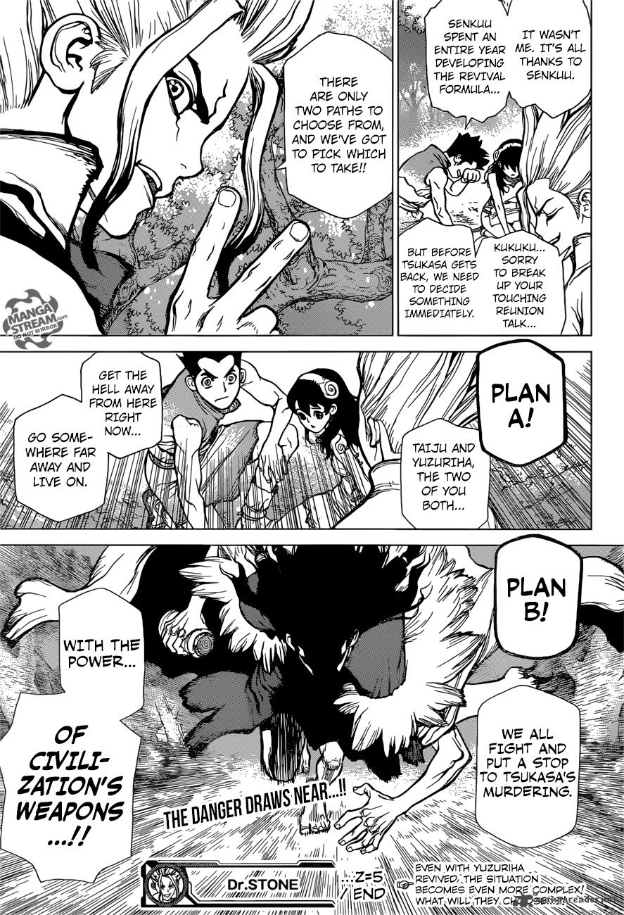 Dr. Stone : Chapter 5 image 017